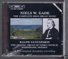 NIELS W.GADE CD NEW COMPLETE SOLO ORGAN MUSIC/ RALPH GUSTAFSSON
