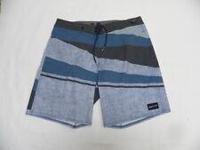 Quiksilver Slash 18 Morrocan Blue Boardshorts Sz 32 SEQYBS03616