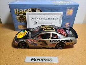 1998 Dale Earnhardt Sr #3 GM Goodwrench / BPS Brushed Metal 1:24 NASCAR RFO MIB