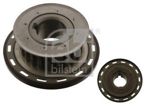 Crankshaft Pulley fits VOLVO S40 MK2 1.6D 10 to 12 D4162T Belt 31370048 31339705