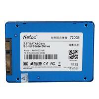 """Netac N600S 720GB SSD SATA3 6Gb/s 2.5"""" Inch 3D TLC Internal Solid State Drive HC"""