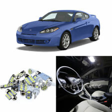 For 2003-2008 Hyundai Tiburon Xenon White LED Interior Lights Kit 7 Pieces