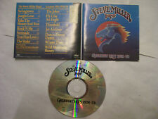 THE STEVE MILLER BAND Greatest Hits 1974-78  – 1988 USA CD Classic Rock BARGAIN!