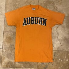 Vintage Auburn T-Shirt 80s Single Stitch Size Medium College Hanes