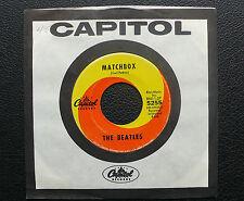 "7"" The Beatles - Matchbox/ Slow Down - US Capitol"