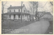 Joseph Jefferson Cottage Rip Van Winkle Barn PA 9790 White Border Postcard A1