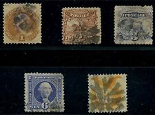 #112-116 SHORT SET -- FINE USED -- ALL HAVE FAULTS CV $603 AU425