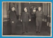Historic picture Bernard Montgomery Hastings Medhurst britsh official photo RfT2