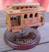 "Music Box San Francisco Cable Car Plays ""I Left My Heart In San Francisco"" Nice!"