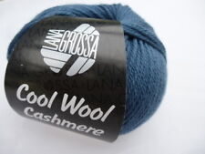 Cool lana cashmere 50g Lana Grossa Lana Merino Con Cachemira fb.11 = Azul Paloma