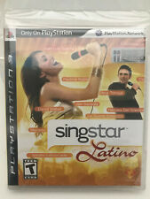 SINGSTAR LATINO ps3 new-sealed Playstation 3 (GAME ONLY)(no microphones)