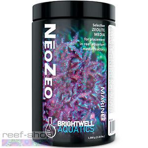 Brightwell Aquatics NeoZeo 1000 grams Reef Aquarium Zeolite Reactor Media
