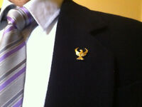 Pontic Single-headed Eagle Lapel Pin