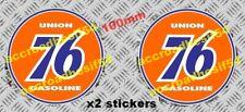 "Old school stickers""union 76""Autocollant/sticker hot rod us pompe essence garage"
