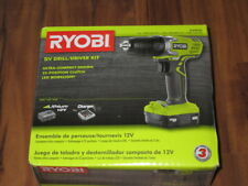 Ryobi 12-Volt Lithium-Ion 3/8 in. Cordless Drill/Driver HJP004L (TOOL ONLY)
