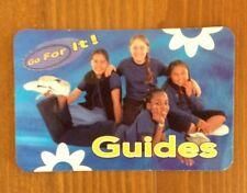 Girlguiding Go For it Guides card