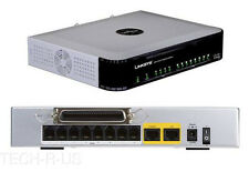 Cisco SPA8000-G1 8-Port Telephony Gateway 8 x , 1 x WAN - 100 Mbps -VoIP Gateway