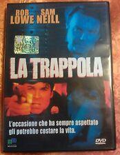 FILM DVD - LA TRAPPOLA - CON ROB LOWE E SAM NEILL - EDIZIONI MASTER
