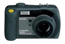 Ricoh Caplio 500SE W 8.1MP Digital Camera - Rugged - Waterproof - Black Grade C
