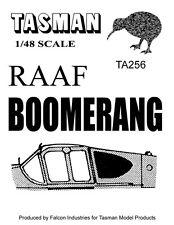 1:48 TASMAN CAC Boomerang Vacform Canopy
