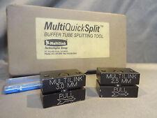 Multi-Quick Split Buffer Tube Fiber Optic Splitting Tools 2.5mm & 3.0mm Kit