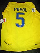 Authentic Puyol Barcelona TREBLE Jersey 2008 2009 Shirt Camiseta Spain L BNWT