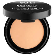 NYX Hydra Touch Pressed Powder Foundation Compact Matte Wet Or Dry - 08 Golden