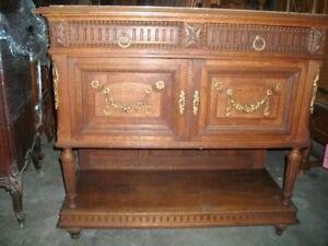 115682 Louis XVI console w/ marble top
