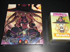 WITCH AND THE HUNDRED KNIGHT Limited Edition Sony PS3 GAME & METALLIA FIGURE