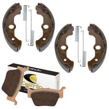 FRONT BRAKE SHOES REAR BRAKE PADS Fits Honda TRX650FA 650 RINCON 2003-2005