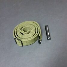 M1 CARBINE SLING AND OILER.GREEN CANVAS. REPRODUCTION. BRAND NEW