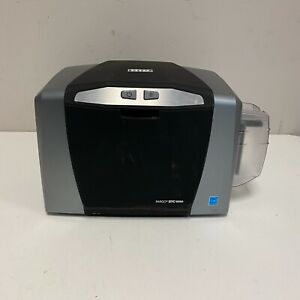 Fargo DTC1000 ID Card Thermal Transfer Color Printer TESTED WORKING NO CABLES