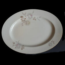 "Johann Haviland Bavaria Germany Porcelain Platter 15"" x 11"" Serving Tableware"