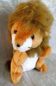 Vintage Dakin brown Lion - plush 1985  - 20cm