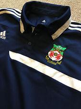 Fantástico Wrexham FC Club Fútbol Adidas Climalite Polo Camisa De Entrenamiento Xl