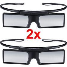 SAMSUNG 2x OCCHIALI 3D ATTIVI SSG-4100GB stereoscopico coppia 2 pezzi