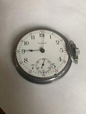 Waltham Antique Pocket Watch 18 Size Model 1883