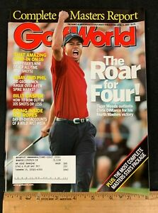 2005 APRIL 15 GOLF WORLD *COMPLETE MASTERS REPORT/TIGER WOODS* MAGAZINE 71420