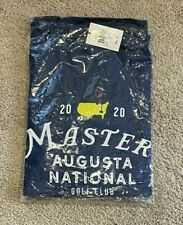 NWT 2020 Masters Augusta National Golf Club T-Shirt Small Navy FREE SHIPPING