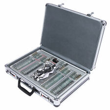 UCanSee 104 pcs Optical Trial Lens Set Optometry Kit Metal Rim Aluminum Case
