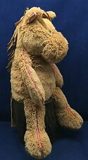 "Jellycat 17"" Brown Pony Plush Animal Horse Stuffed Toy Soft and Cuddly"