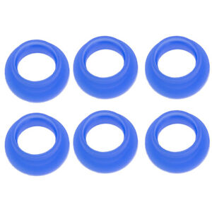 6PCS RC Car Buggy 1/8 Rubber Exhaust Pipe Couplers GASKET MANIFOLD
