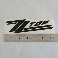 ZZ TOP Vinyl DECAL STICKER BLK/RED/WHT Blues Rock BAND Country Guitar Window LP