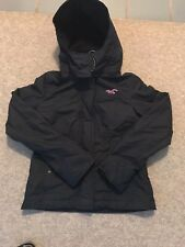 HOLLISTER CALIFORNIA ALL WEATHER NAVY BLUE JACKET  SIZE S  EX/CON