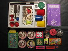 Magic Tricks Puzzles lot - Magic Trick set and 16 other puzzles, spinners