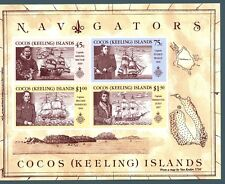 ISOLE COCOS - BF - 1990 - Navigatori che hanno visitato l'Isola