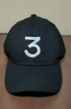 Chance The Rapper 3 Black & White Logo  size S/M cap unbranded Pre-owned
