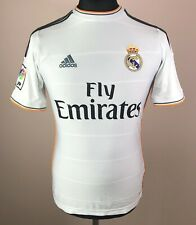 Real Madrid 2013/2014 ADIDAS Home Football Shirt Boys Size L 13-14 Soccer Jersey
