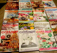 The Cottage Journal Magazines Lot Of 18 Christmas Fall Winter Coastal Maine