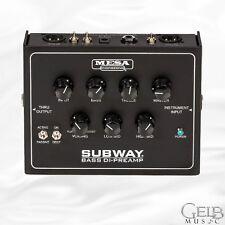 Mesa Boogie Subway Bass DI-Preamp - FP.DI800